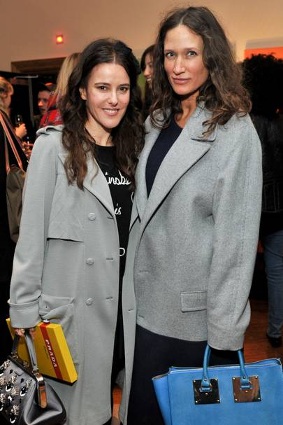 Lisa Eldridge and Lulu Kennedy