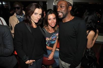 Aure Atika, Elodie Bouchez and Marco Prince