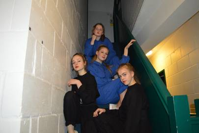 Emily Rash, Ella Bartram, Willow Major and Imi Shaw