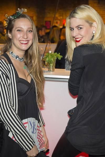 Caroline Pera and Stefanie Maier