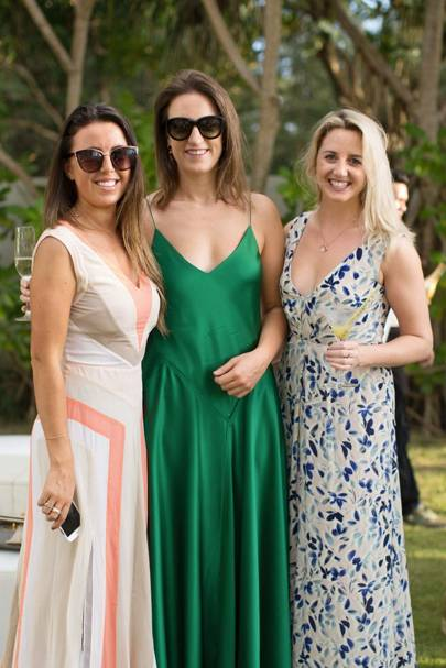 Lucy Bennett-Baggs, Sophia Money-Coutts and Emily Garvey