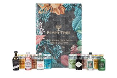 Gin & Tonic Advent calendar by Fever Tree