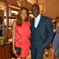Naomie Harris and Ozwald Boateng