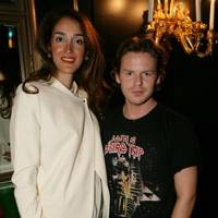 Yasmin Ghandehari and Christopher Kane