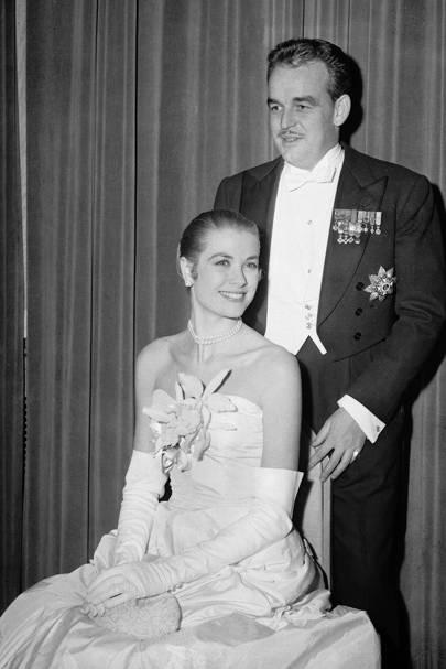 Princess Grace of Monaco, 1956.