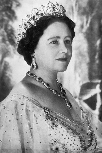 Elizabeth Bowes-Lyon, wife of King George VI