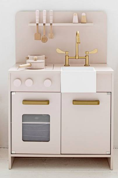 """Wooden Dolls House by Petite Amélie by """"Wooden Play Kitchen by Petite Amélie"""