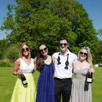 Georgina Jones, Alexandra Routledge, Christian Holbrook and Louise Browning