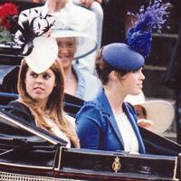 With Princess Beatrice at Royal Ascot, 2008