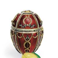 Rosebud Easter Egg, House of Fabergé, 1895