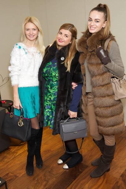 Yana Romanchuk, Valentina Tkachenko and Anna Anikina