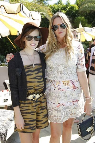 Emma Watson and Emma Hill