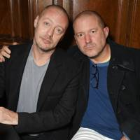 Matthew Freud and Sir Jony Ive