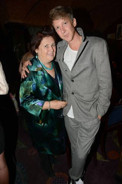 Suzy Menkes and Jefferson Hack