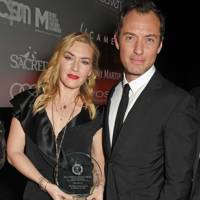 Kate Winslet and Jude Law