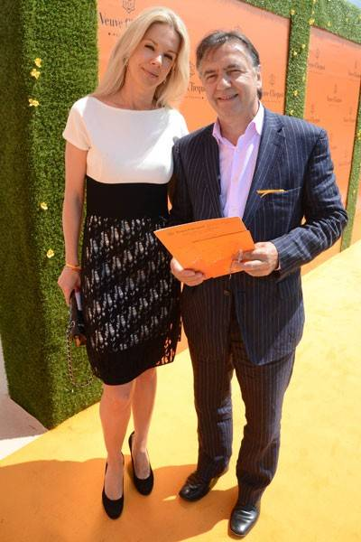 Natalia Traxel and Raymond Blanc