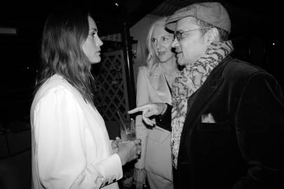 Yasmin Le Bon, Ruth Chapman and Gerry Deveaux