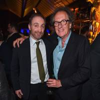 Michael McElhatton and Geoffrey Rush