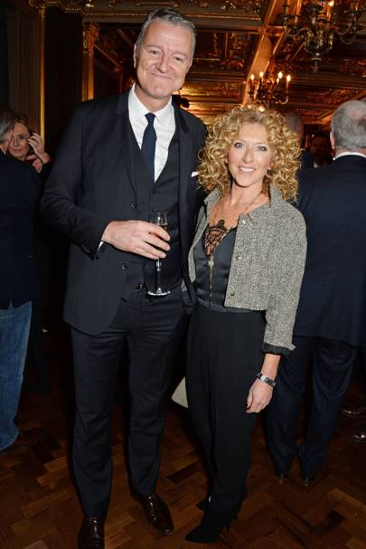 Richard Thompson and Kelly Hoppen
