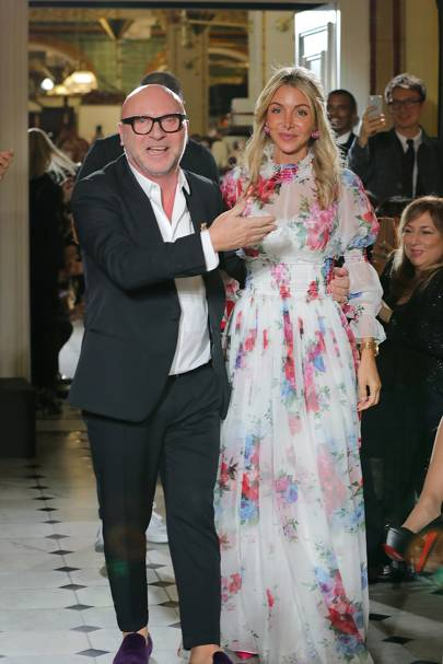 Domenico Dolce and Helen David