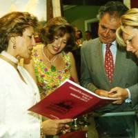 Peter Hambro, Mrs Peter Hambro, Annie Charlton and Mrs Dru Montagu