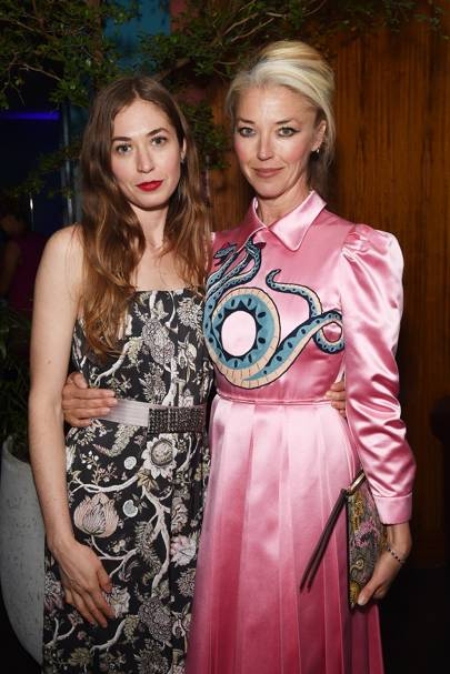 Anouska Beckwith and Tamara Beckwith