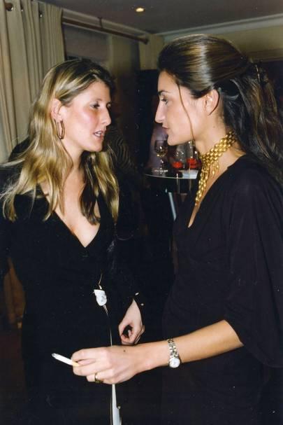 Justine Higginson-Dobs and Alberica Sforza