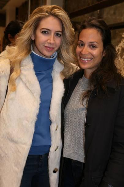 Sabine Ghanem and Tania el Chiaty