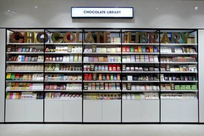 The Selfridges Chocolate Library