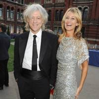 Bob Geldof and Lady Victoria Hervey