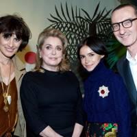 Inès de la Fressange Catherine Deneuve, Miroslava Duma and Bruno Frisoni