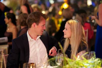 Alan Pownall and Gabriella Wilde