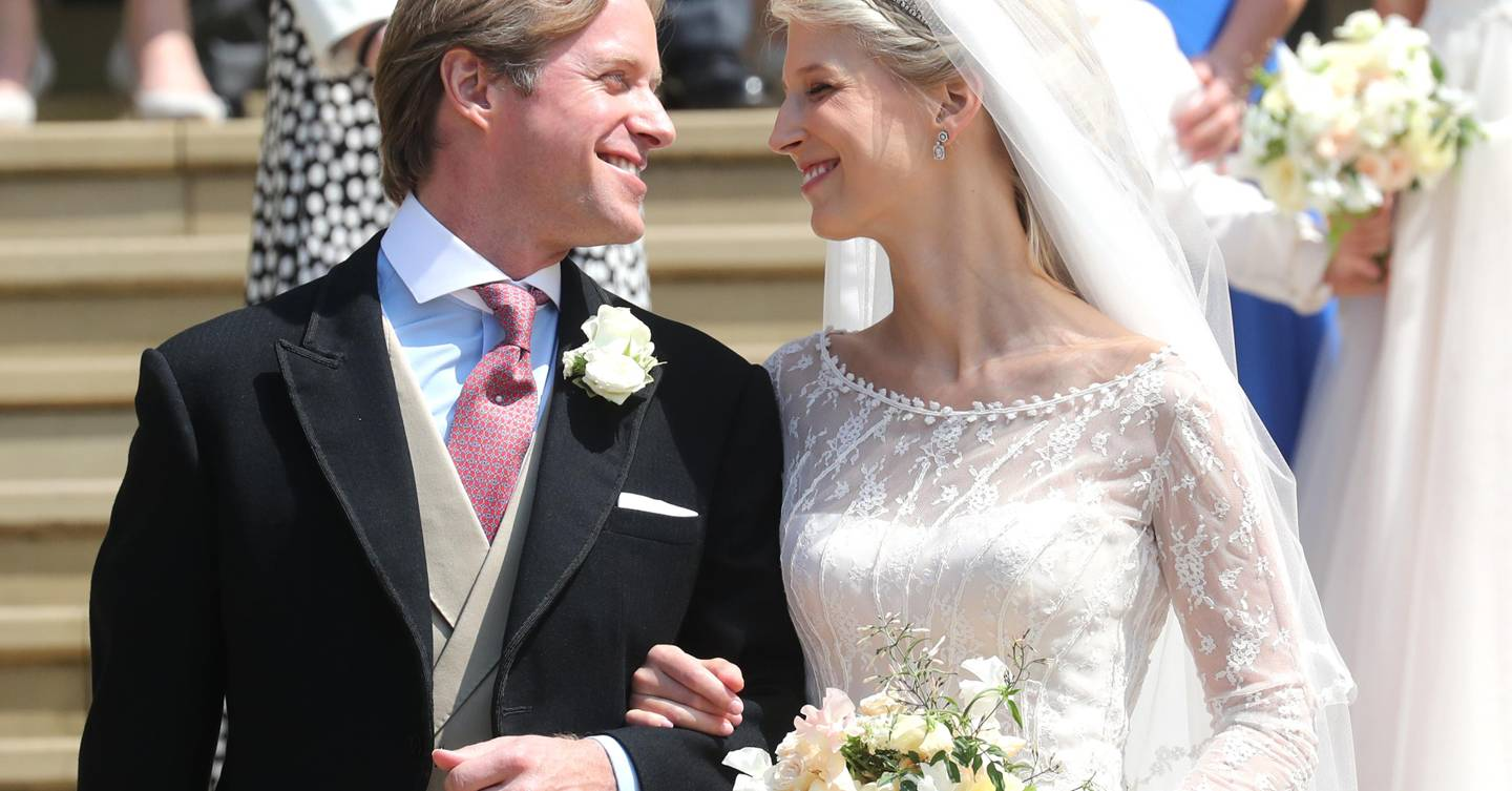 Lady Gabriella Windsor and Thomas Kingston release official wedding photos