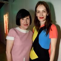 Alice Rawsthorn and Roksanda Ilincic