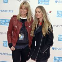 Isabelle Anstruther-Gough-Calthorpe and Cressida Bonas