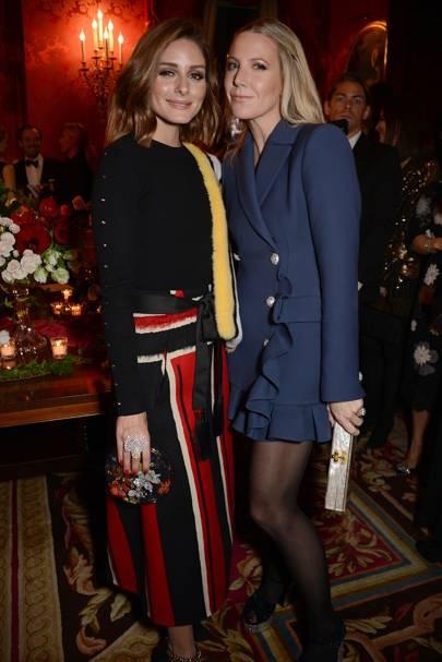 Olivia Palermo and Alice Naylor-Leyland