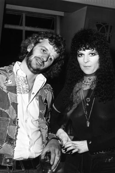 Ringo Starr and Maureen Starkey