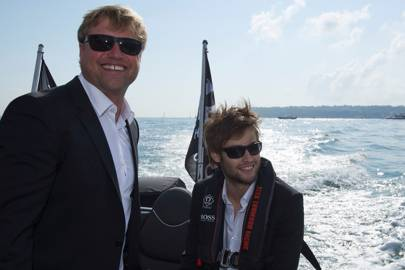 Alex Thomson and Douglas Booth