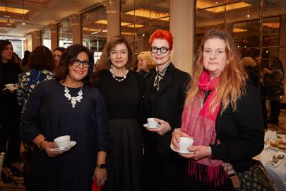 Nishma Robb, Diana Quick, Sandy Powell and Kate Morley