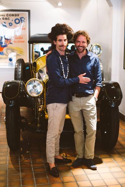 King Charles and Robbie Honey
