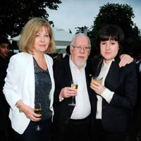 Lady Blake, Sir Peter Blake and Rose Blake