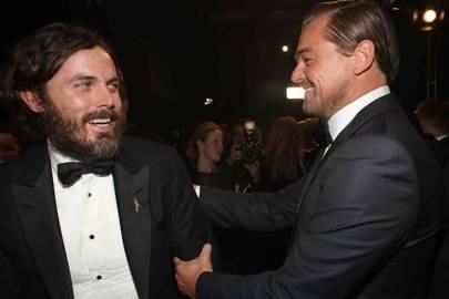 Casey Affleck and Leonardo Dicaprio