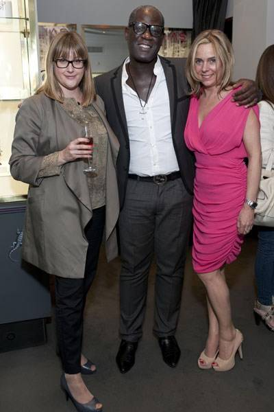 Charlotte Gray, Errol Douglas and Rachel Vosper