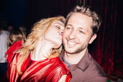 Natalia Vodianova and Derek Blasberg