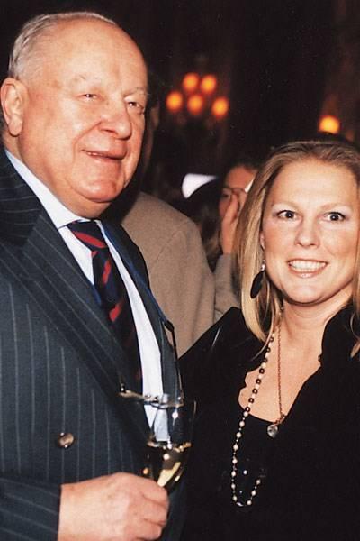 Ned Sherrin and Viscountess Gormanston