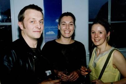 Matthew Marshall, Merryn Somerset-Webb and Mrs Oliver James