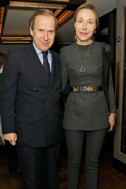 Simon de Pury and Michaela de Pury