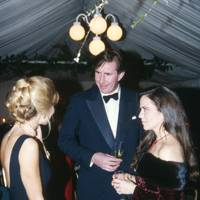 Mrs Christopher Leigh-Pemberton, Gerald Way and Koo Stark