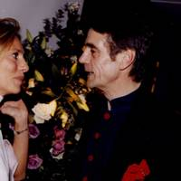 Mrs Massimo Carello and Jeremy Irons