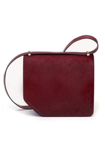 Leather bag, £1,395, by Bally